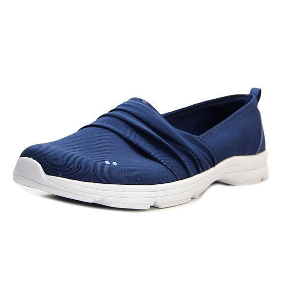 Ryka Jamboree Women Round Toe Canvas Blue Loafer