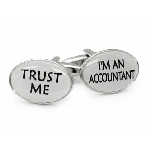 Trust Me Accountant Cpa Career Cufflinks