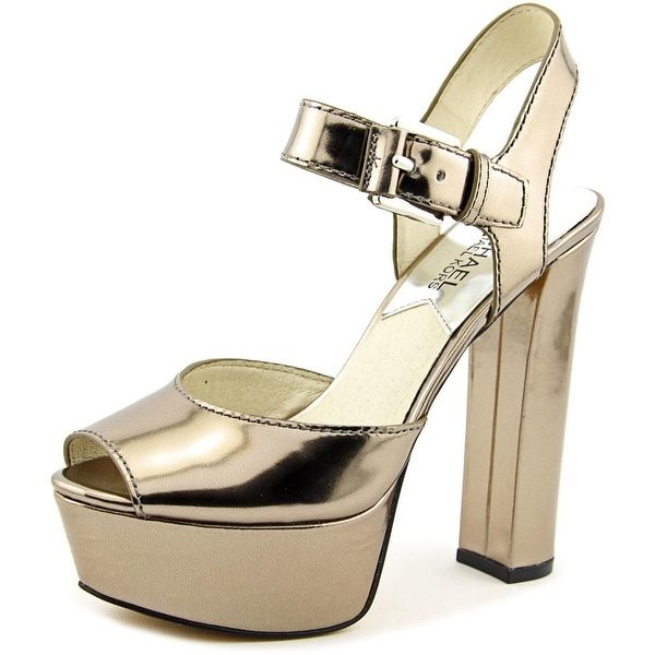 Michael Michael Kors London Open Toe Open Toe Synthetic Platform Heel