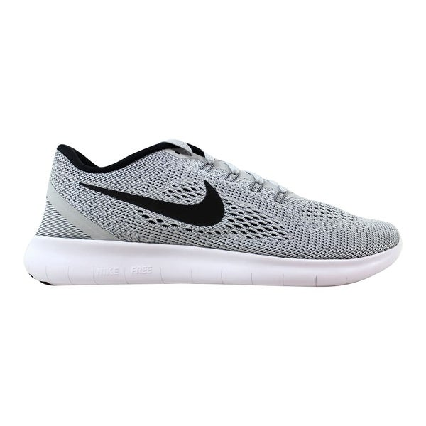 5c07e3f19b69c Shop Nike Free RN White Black-Pure Platinum 831508-101 Men s - Free ...