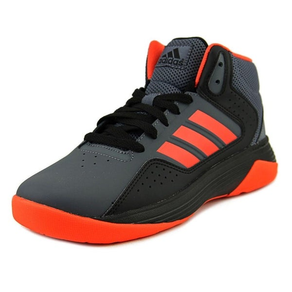 newest 623ff 006e6 Adidas Cloudfoam Ilation Mid K Youth Round Toe Synthetic Gray Basketball  Shoe