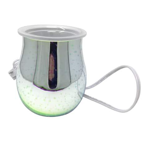 Better Homes & Gardens Stargaze FullSize Wax Warmer w/ 1-25W LightBulb - Size: 5.75 x 5.75 x 7.