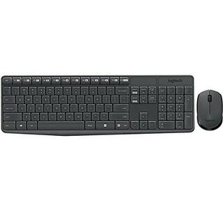 Logitech 1Y1758 MK235 Wireless Keyboard & Mouse Combo, Black