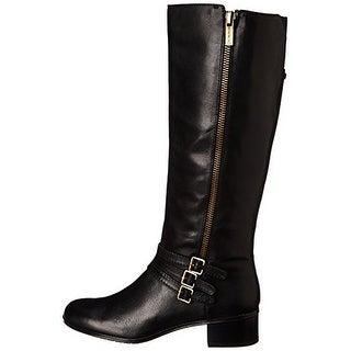 Bandolino Women's Carsononia Leather Riding Boots