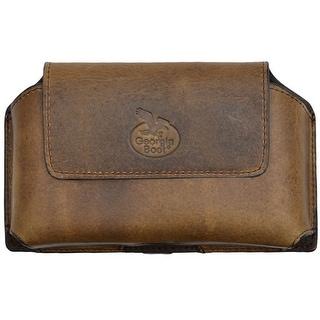 Georgia Cell Phone Case Leather Pebble Smartphone Dark Brown GBP119