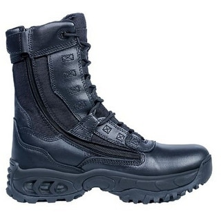 "Ridge Tactical Boots Mens Ghost 8"" Shaft Steel Toe Black 8010ST"