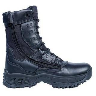 "Ridge Tactical Boots Mens Ghost 8"" Shaft Steel Toe Black 8010ST"