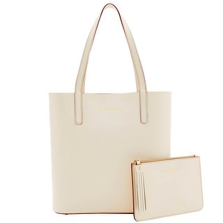 Dooney & Bourke Montecito Waverly Tote Pouch (Introduced by Dooney & Bourke at $298 in Aug 2016) - bone taupe