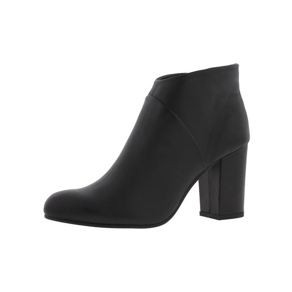 Steve Madden Womens Juliet Ankle Boots Covered Heel