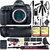 Canon EOS 5D Mark IV DSLR Camera (Body Only) Accessory Kit Intl Model