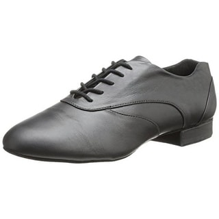 Capezio Mens Tony Smooth Leather Lace Up Dance Shoes