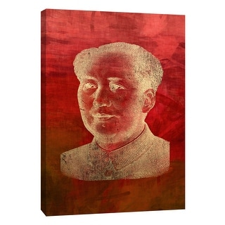 """PTM Images 9-109041  PTM Canvas Collection 10"""" x 8"""" - """"Mao"""" Giclee Men Art Print on Canvas"""