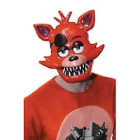 Rubies Five Nights at Freddy's Foxy Adult 1/2 Mask - Orange