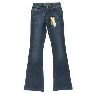 DL1961 Womens Joy Nirvana Wash High Rise Flare Jeans