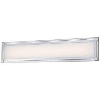 """Kovacs P1164-077-L 1 Light 30"""" Width ADA Compliant LED Bathroom Bath Bar from the Framed Collection - Chrome"""