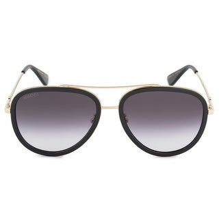 Link to Gucci Aviator Sunglasses GG0062S 007 57 - 57mm x 17mm x 140mm Similar Items in Women's Sunglasses