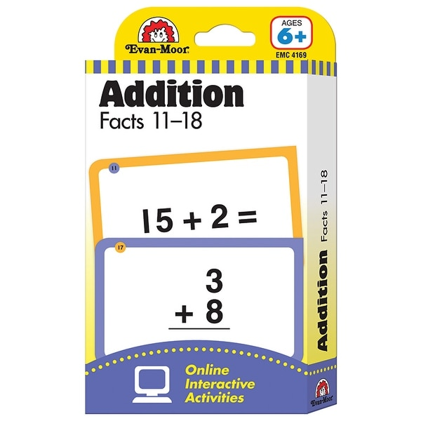 Free Set Shipping On Shop Addition 11 Facts Orders Flashcard To 4qj5RLA3