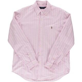 Ralph Lauren Mens Cotton Polo Casual Shirt - L