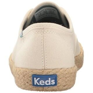 Keds Women's Champion Salt Wash Canvas Jute Fashion Sneaker