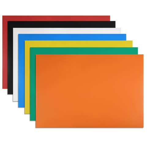 "7 Pcs Dry Erase Flexible Magnetic Strip 11.7"" x 8"" Stickers Writable Colorful"