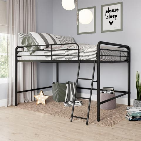 Avenue Greene Avery Junior Full Metal Loft Bed