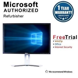 """Refurbished Dell 2408W 24"""" LCD 1920 X 1200 - Black"""