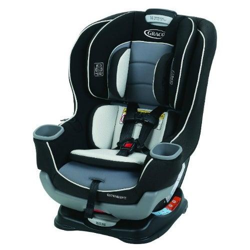 Graco Extend2Fit Convertible Car Seat - Gotham Convertible Car Seat