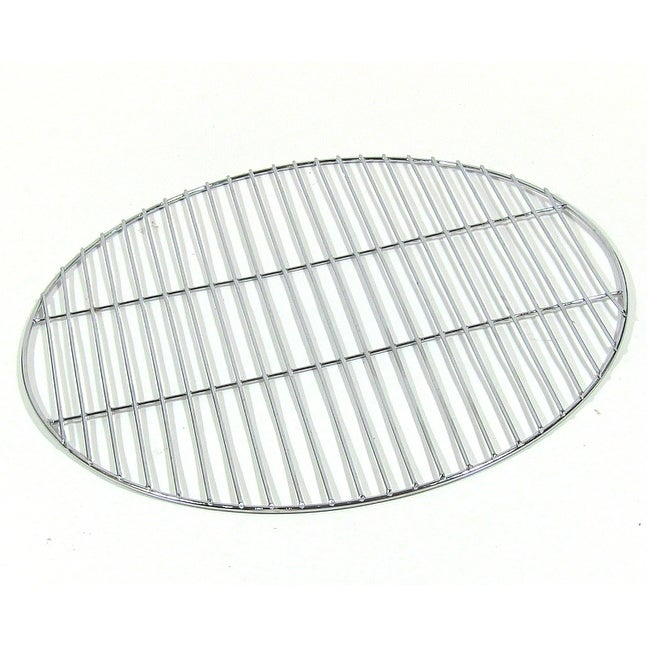 Sunnydaze Chrome Plated Cooking Grate for Grilling, 19 Inch Diameter - Silver - Thumbnail 0