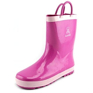 Kamik Squirt2 Round Toe Synthetic Rain Boot