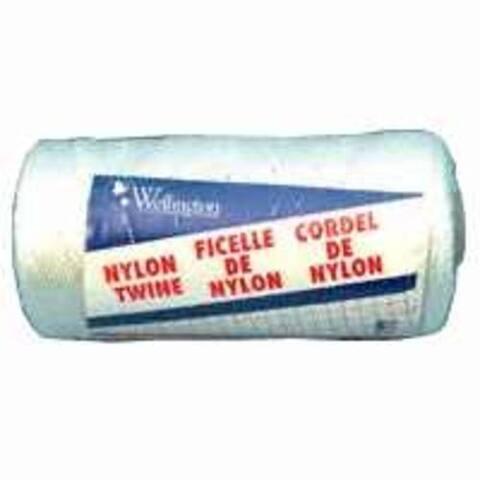 Wellington 10484 Nylon Seine Twine, 525', #18, White