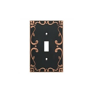 Franklin Brass W35070-C Classic Lace Single Toggle Switch Wall Plate