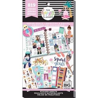 Squad Goals; 819/Pkg - Happy Planner Sticker Value Pack