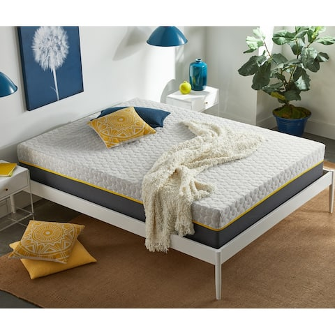 12-Inch Plush Hybrid Mattress, CertiPUR-US Foam