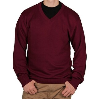 Ecko Unltd. Men's Solid V-Neck Sweater