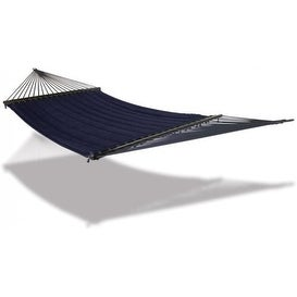 Hammaka 2-Person Soft Padded & Quilted Olefin Hammock - Blue