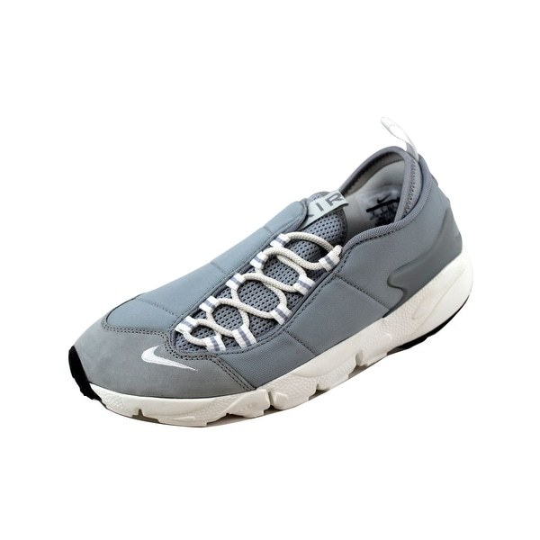 Nike Men's Air Footscape NM Wolf Grey/Summit White-Black 852629-003 Size 9