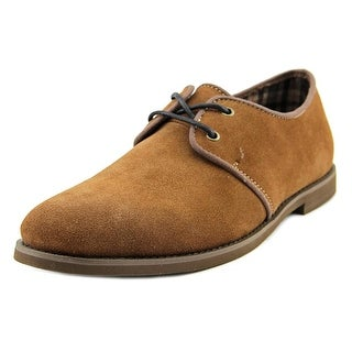 Generic Surplus Klein Men Round Toe Suede Brown Oxford