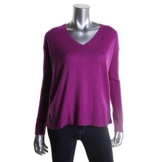 Ralph Lauren Womens Cashmere Long Sleeves Pullover Sweater - M
