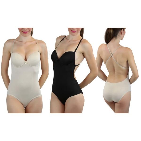Women's Multiway Bikini Backless Body Shaper. Opens flyout.