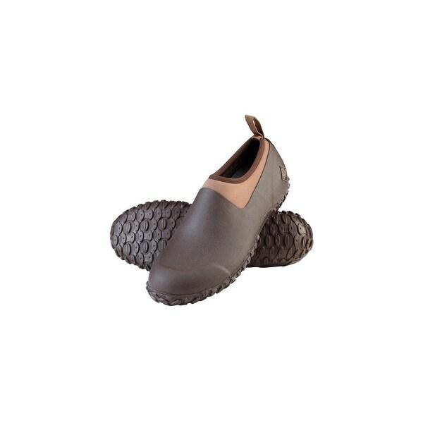 Muck Boot's Men's Muckster II Low Bark/Otter Boots w/ Airmesh Lining - Size 13
