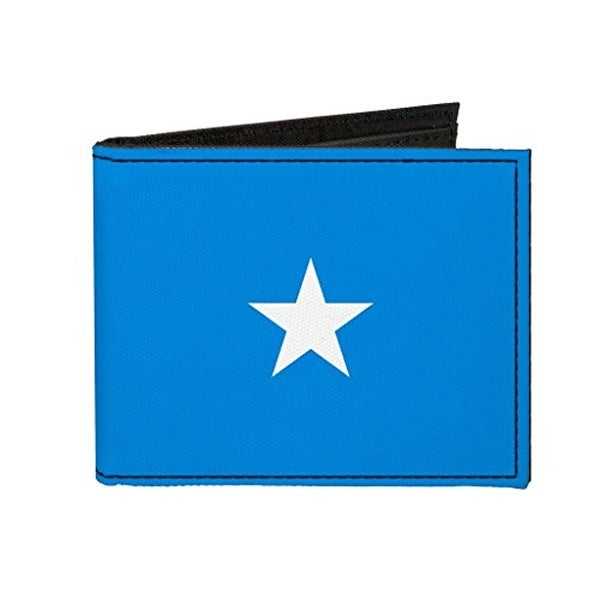 Buckle-Down Canvas Bi-fold Wallet - Somalia Flag Accessory