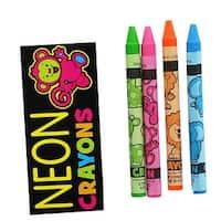 Neon Crayons 4-Pack - multi