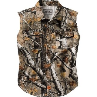 Legendary Whitetails Men's Country Boy Big Game Camo Cut Off Shirt