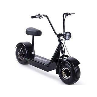 MotoTec MT-FatBoy-500 48V FatBoy Electric Scooter, 500W