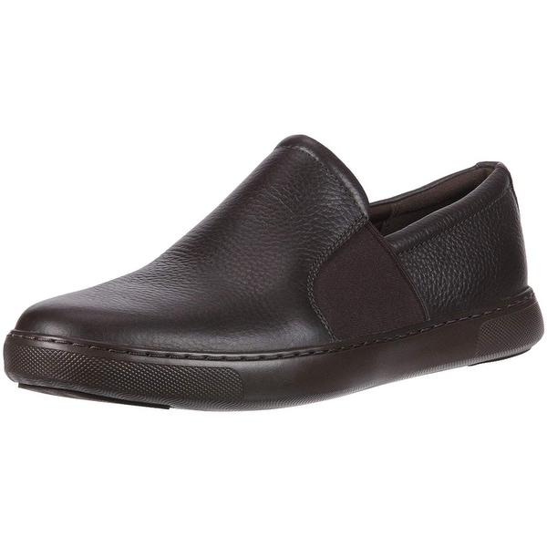 68933ed6925f Shop FitFlop Men s Collins Leather Slip-on Skate Shoes Sneaker - Free  Shipping Today - Overstock - 27635013