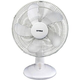 """Optimus OPSF1637W 16-Inch Oscillating 3-Speed Table Fan"""