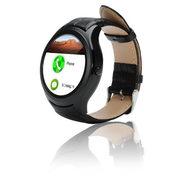 Indigi® A6 Bluetooth 4.0 SmartWatch & Phone - Android 4.4 + Heart Monitor + Pedometer + WiFi (iOS & Android Compatible)