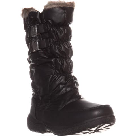 Sporto Makela Waterproof Winter Boots, Black