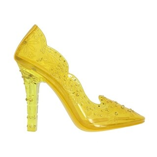 Dolce & Gabbana Yellow PVC Crystal Pumps - eu39-us8-5