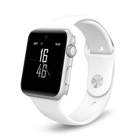 AGPtek Smart Watches 2.5D ARC HD Screen Wearable Smartphone For iPhone Android